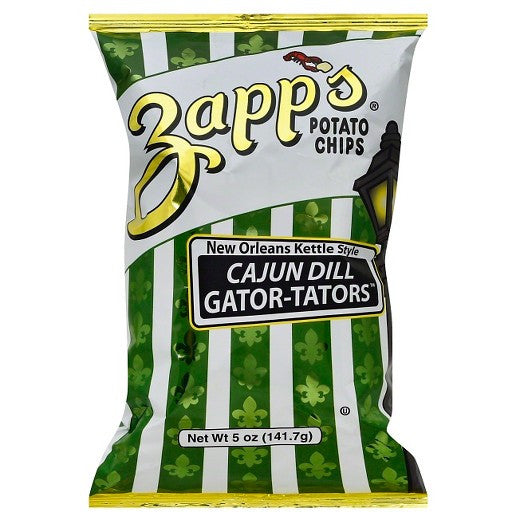Zapp's New Orleans Kettle Style Cajun Dill Gator-Tators 5.5 oz