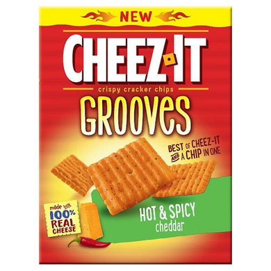 Cheez It Grooves Hot& Spicy Cheddar