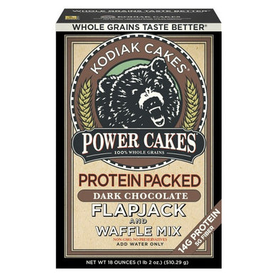 Kodiak Cakes Protein Packed Flapjack & Waffle Mix Dark Chocolate - 18oz