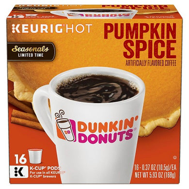 Dunkin' Donuts Pumpkin Spice K-Cup - 16ct