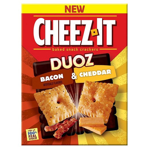 Cheez It Duoz Bacon & Cheddar - 12.4oz