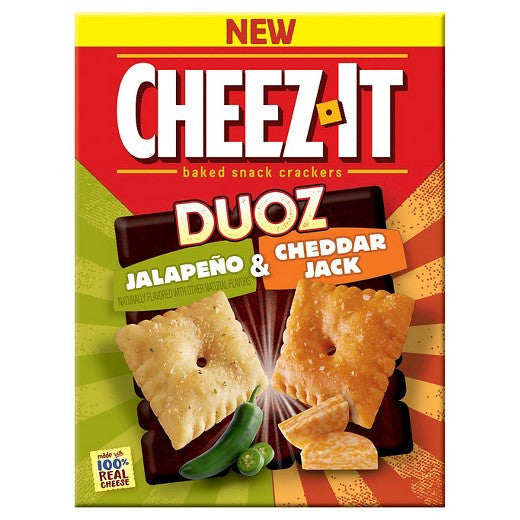 Cheez It Duoz Jalapeno & Cheddar