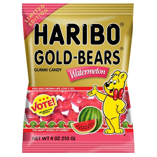 Haribo Gold Bears Limited Edition Watermelon