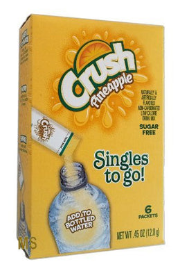 Crush Sugar Free Singles To Go! Pineapple