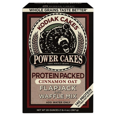 Kodiak Cakes Power Cakes Cinnamon and Oat Pancake Mix - 18oz