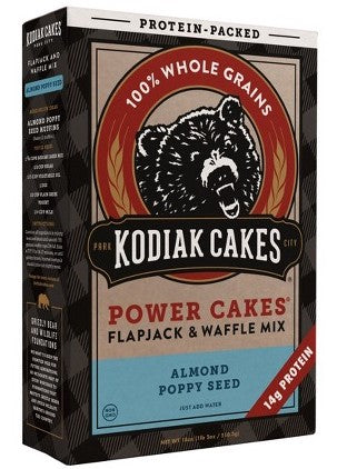 Kodiak Cakes Protein Packed Flapjack & Waffle Mix Almond Poppy Seed- 18oz