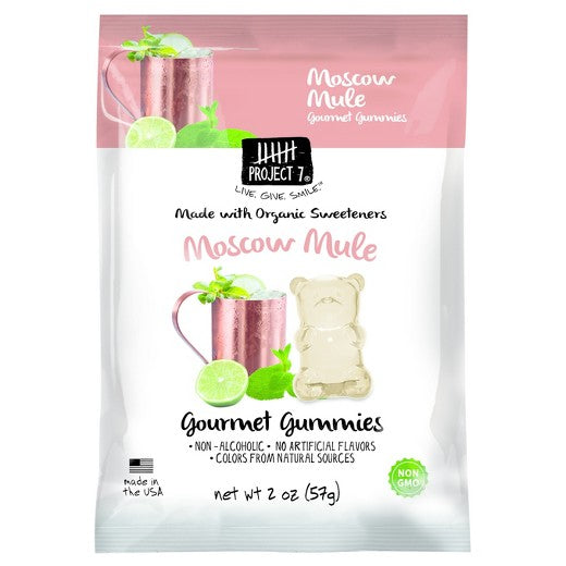 Project 7 Moscow Mule Gummies - 2oz