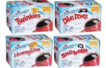 New! Hostess Single Serve Coffee - Various Flavors