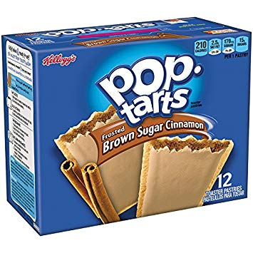 New! Pop Tarts Frosted Brown Sugar Cinnamon 16 ct
