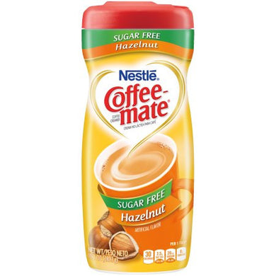 Coffee-Mate Sugar Free Powder Creamer - Hazelnut