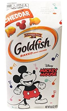 Goldfish Special Edition Cheddar Mickey Mouse - 6.6oz SALE!