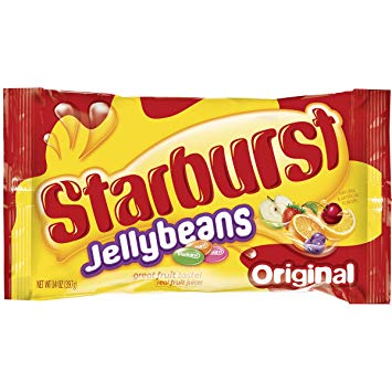 New! Starburst Jelly Beans Original Flavours 2oz
