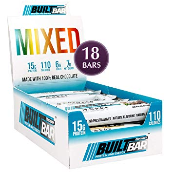 New ! Built Bars Mixed Variety Box