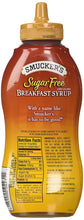 New! Smucker's Sugar Free Breakfast Syrup 14.5 oz