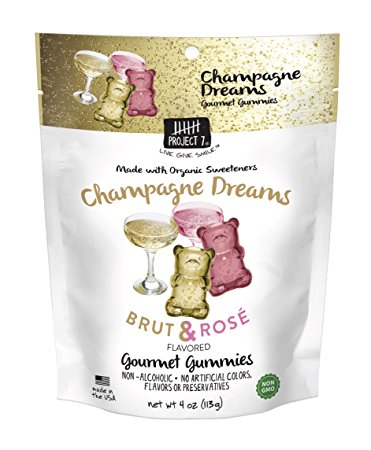 Project 7 Champagne Dreams Brut & Rose Gummies - 2oz