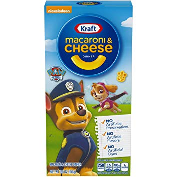 New ! Kraft Macaroni & Cheese Paw Patrol
