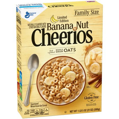 Cheerios Banana Nut - 21oz ***Limit One Per***
