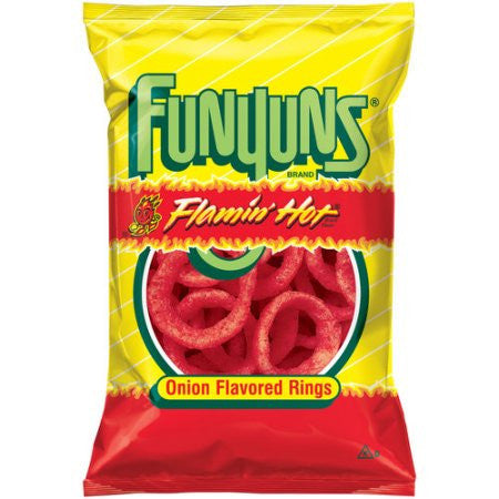Funyuns Flamin Hot Onion Flavoured Rings 6 oz