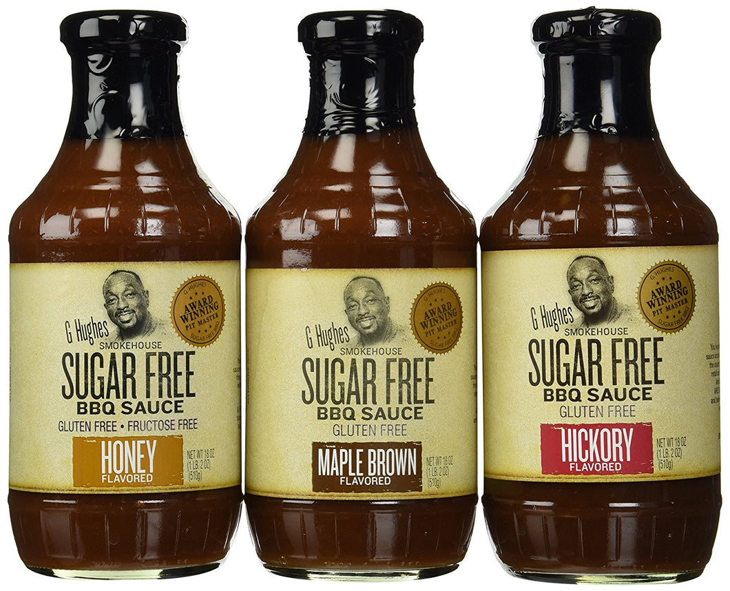 G Hughes Sugar Free Smokehouse BBQ Sauces