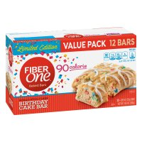 New! Fiber One Birthday Cake Limited Edition - 12 ct