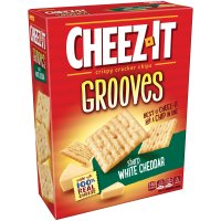 Cheez It Grooves - White Cheddar 9 oz