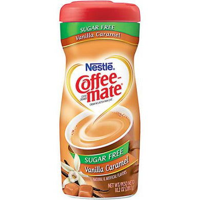 Coffee-Mate Sugar Free Powder Creamer - Vanilla Caramel