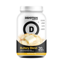 New! Devotion Nutrition Protein Powder - Buttery Blend