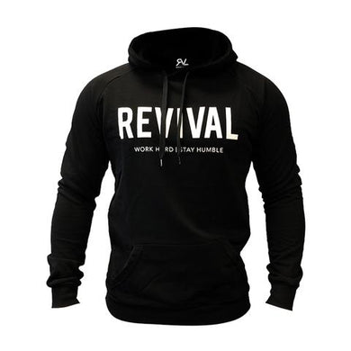 Revival Apparel Lightweight Training Pullover V2.0 - Black