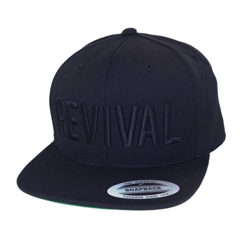 Revival Hat Classic Revival Black/Black
