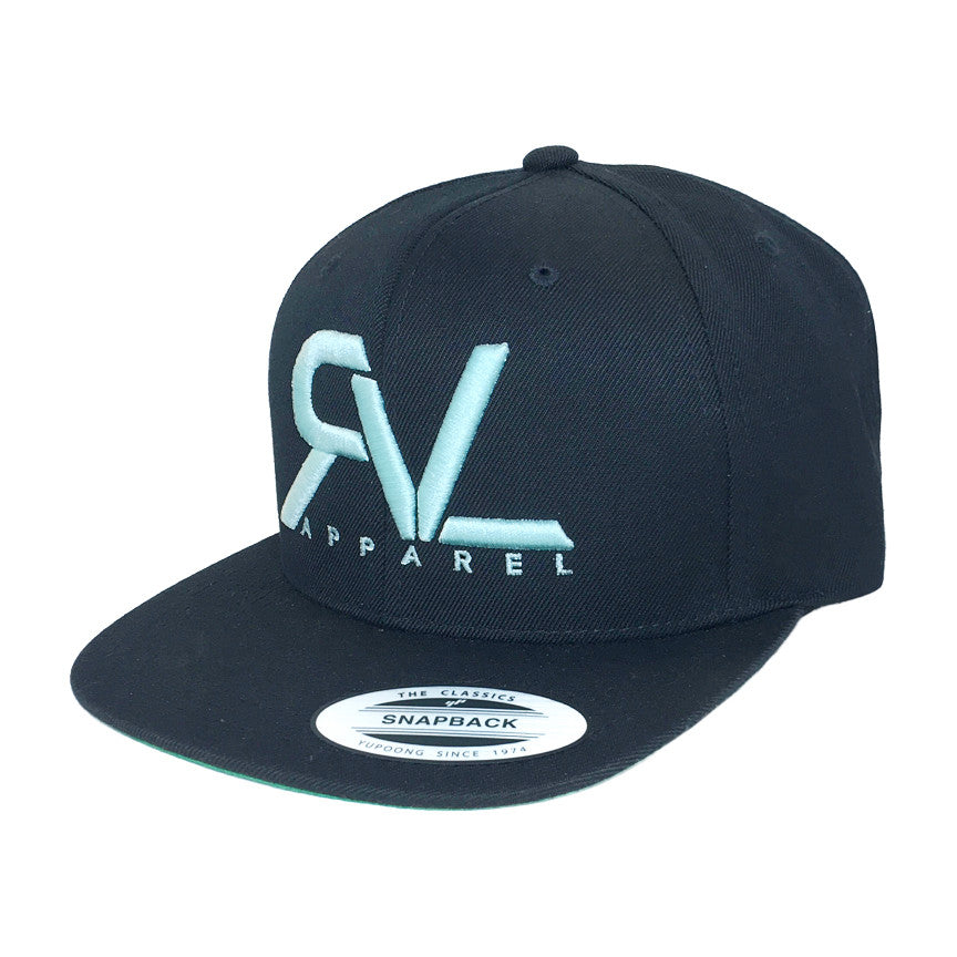 Revival Hat Original Black/Seafoam