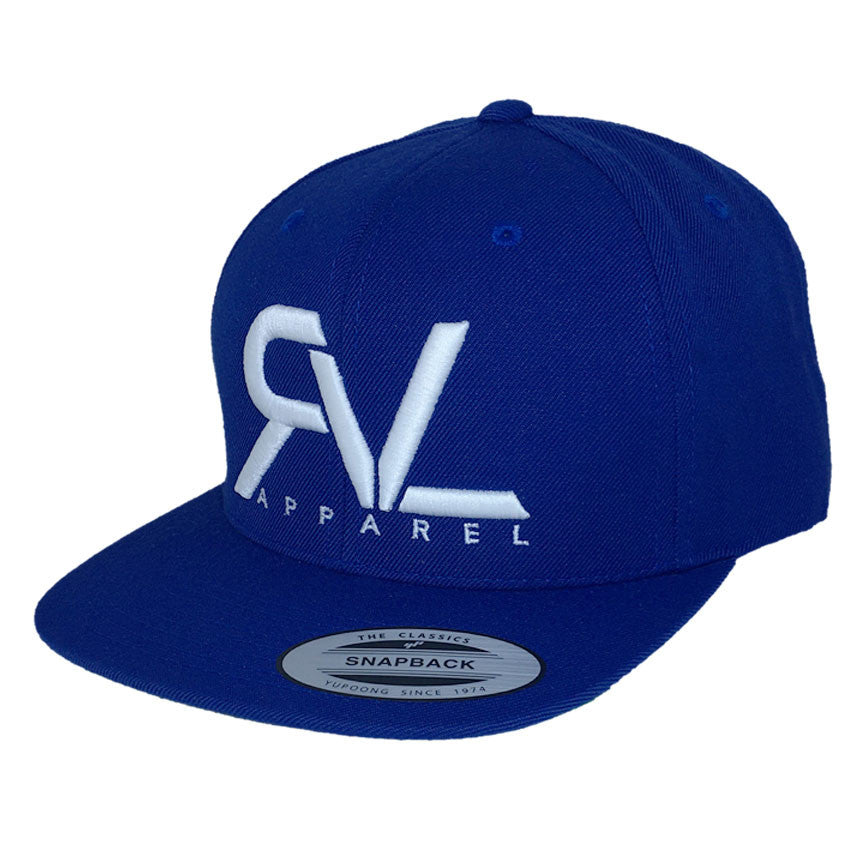 Revival Hat Original Royal Blue/White