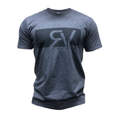 Revival Apparel Boxxed Tee - Navy Heather