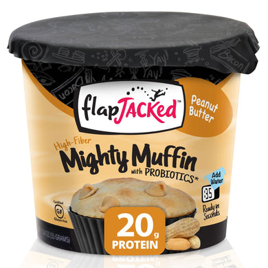 FlapJacked Mighty Muffins Peanut Butter 1.95oz in Canada