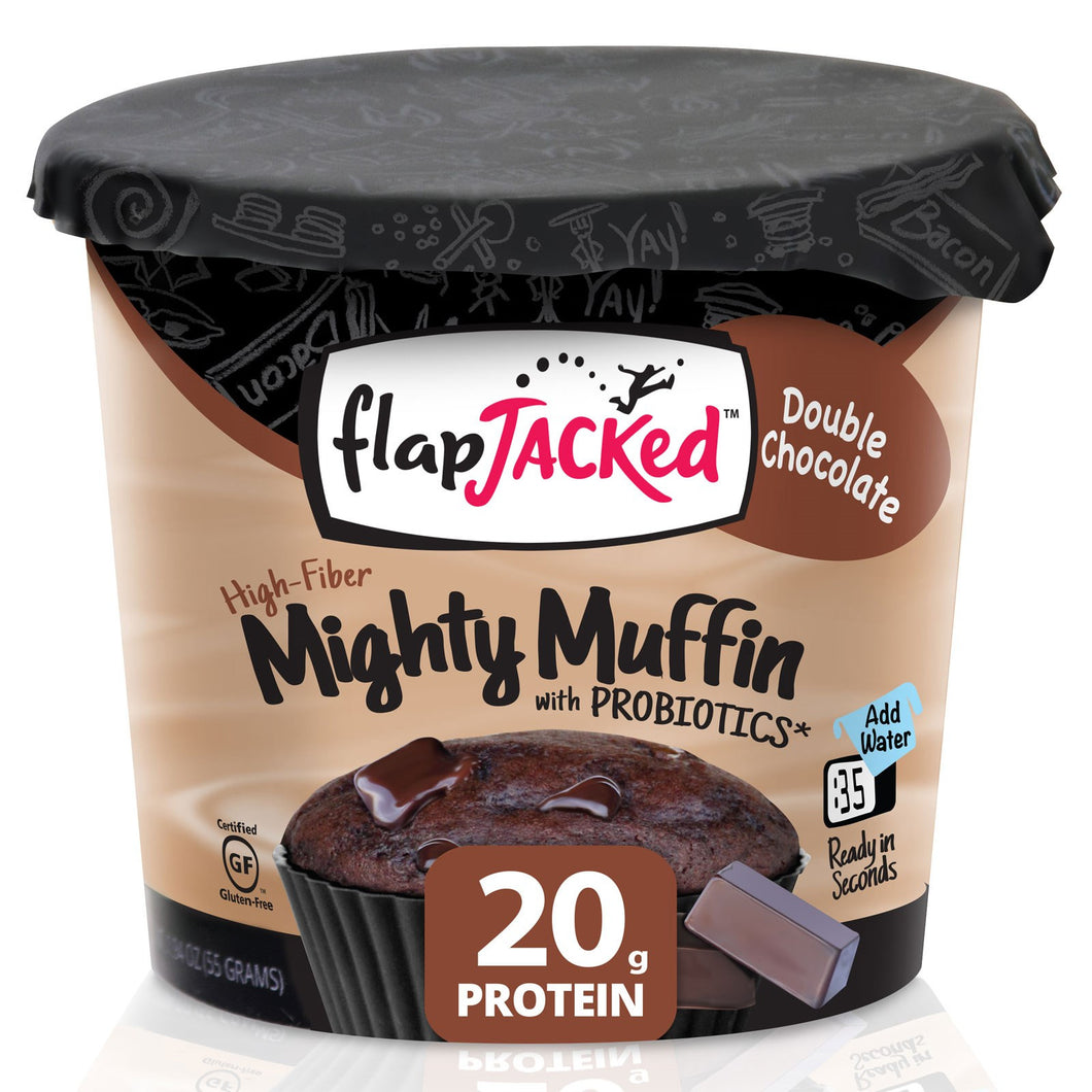 FlapJacked Mighty Muffins Double Chocolate 1.95oz in Canada