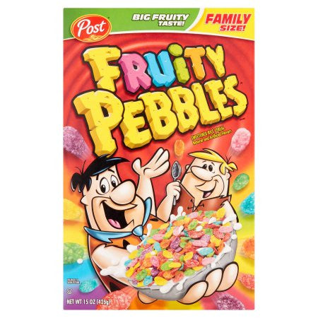 Fruity Pebbles Cereal 15oz