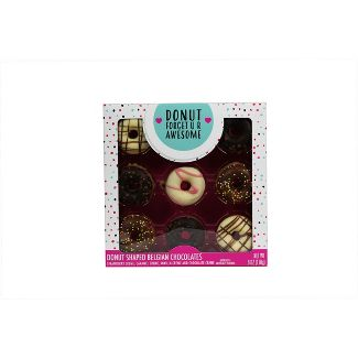 New! Galerie Valentine's Day Donut Shaped Belgian Chocolates - 6oz