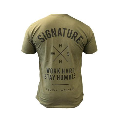 Revival Apparel Fundamentals Tee- Military Green