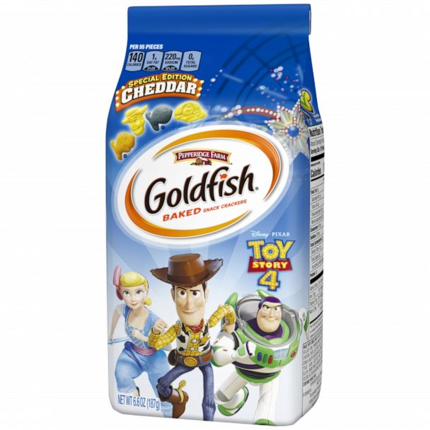 New !! Limited Edition  Toy Story 4 Goldfish 6.6 oz