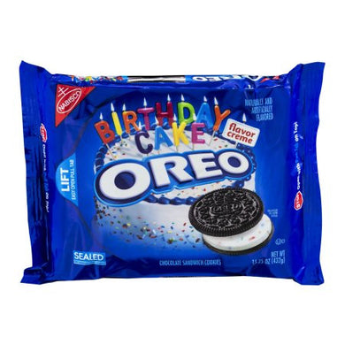 Oreo Birthday Cake Chocolate 15.25 oz