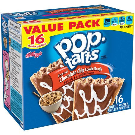 Pop Tart Chocolate Chip Cookie Dough 16ct