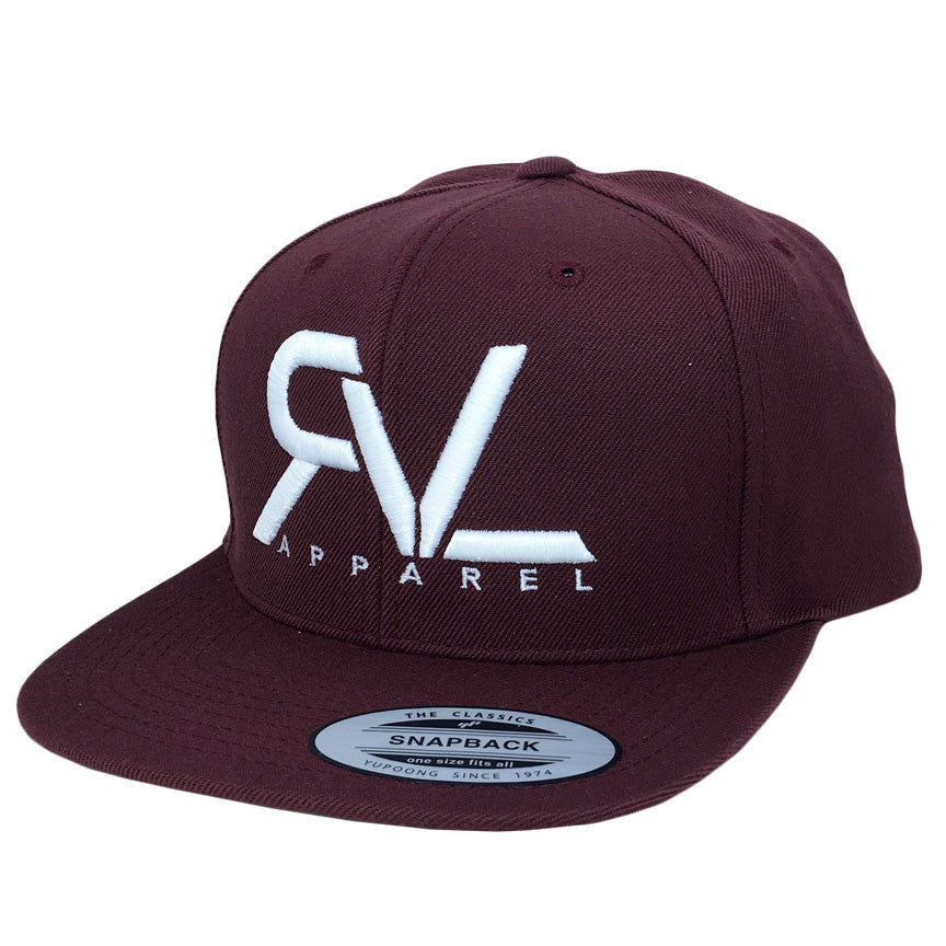 Revival Hat Original Maroon/White - O/S
