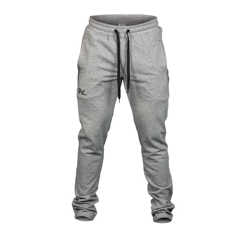 New! Revival Heather Grey/Black Sweat Pants
