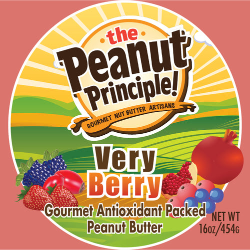 New! Peanut Principle Very Berry Gourmet Antioxidant Packed Peanut Butter - SALE!