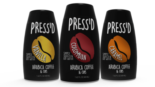 Press'd 100% Arabica Coffee Concentrate Caramel Unsweetened - Sale!