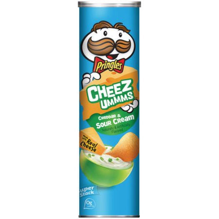 Pringles Cheddar and Sour Cream 5.96oz Available in Canada