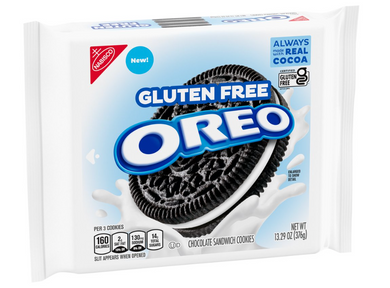 New! Oreo Original Gluten Free - 13.29oz