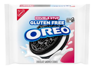 New! Oreo Original Double Stuff Gluten Free - 13.29oz