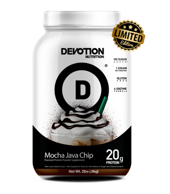 New! Devotion Nutrition Protein Powder - Mocha Java