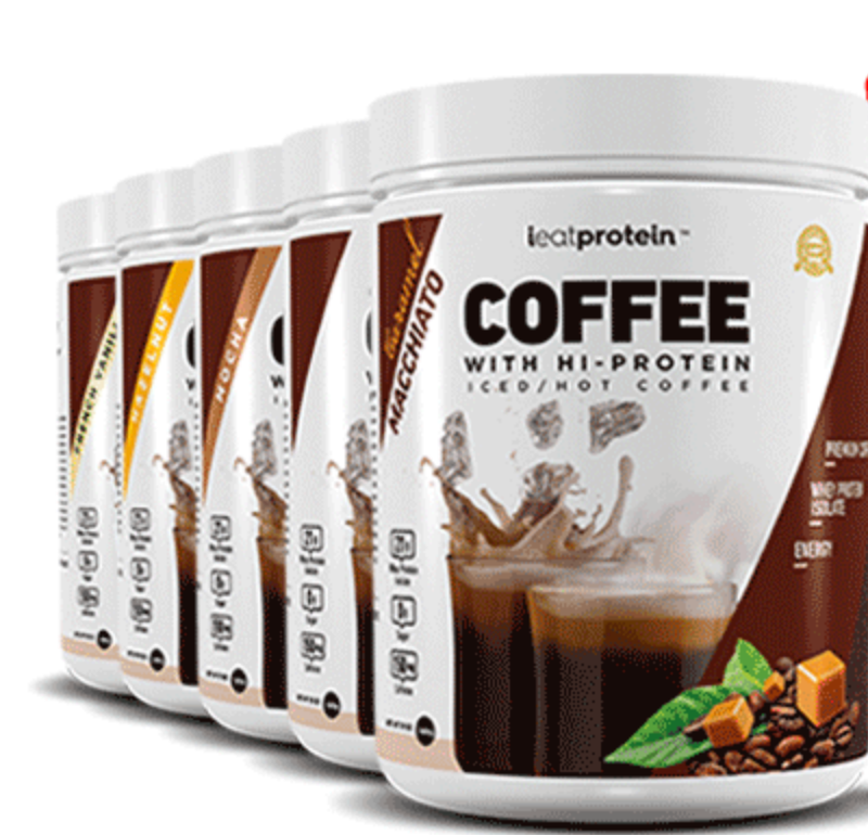 ieatprotein Coffee with HI-PROTEIN Iced/Hot Coffee