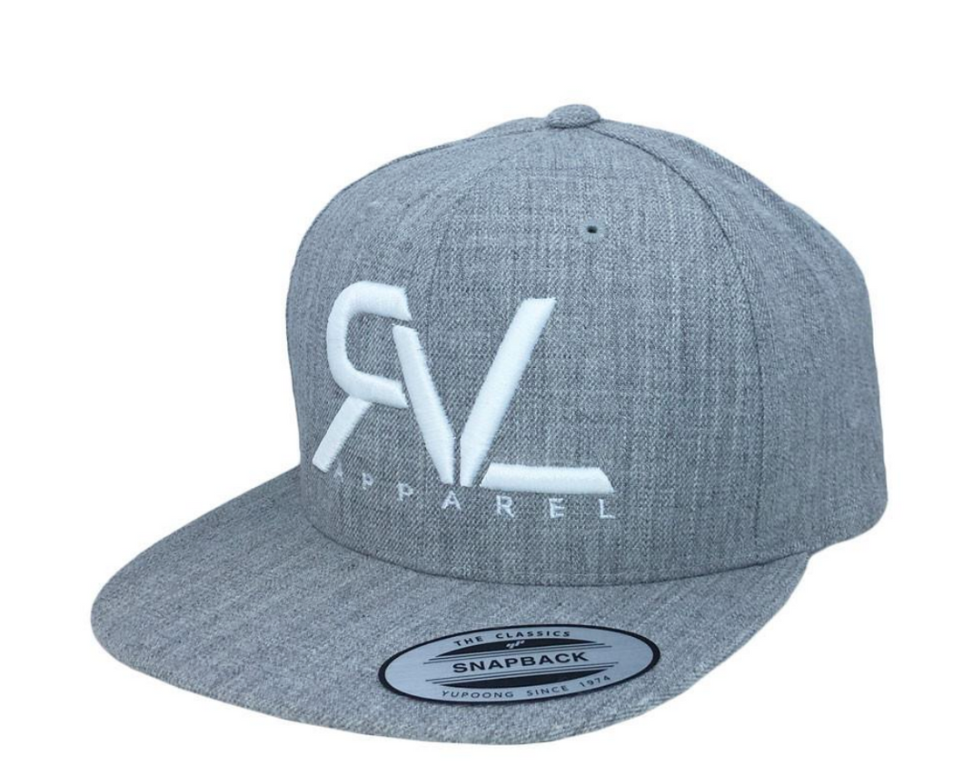 Revival Hat Original Heather Grey/White